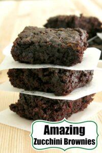 Zucchini Brownies Recipe Pin