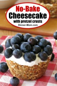 No Bake Cheesecake Recipe Pin