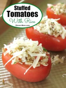 Stuffed Tomatoes with Rice Pin