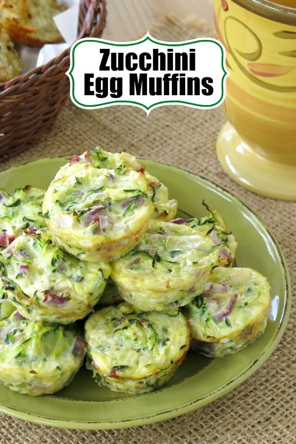 Zucchini Egg Muffin Pinterest