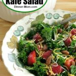 Easy Massaged Kale Salad Pin