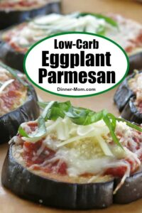 Low-Carb Eggplant Parmesan Pin