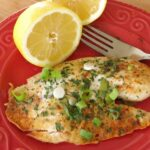 Lemon Pepper Tilapia on plate