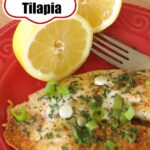 Lemon Pepper Tilapia Pin