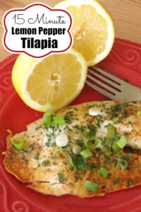 Lemon Pepper Tilapia Pin