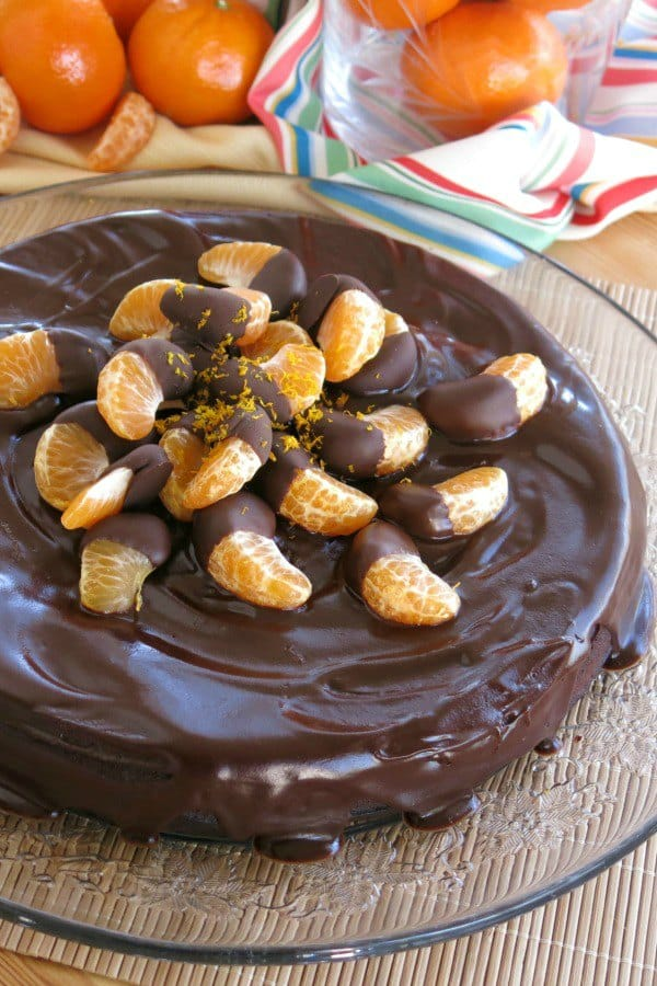 Easy Off Stove Top Cleaner: Flourless Orange Chocolate Cake