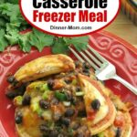Ravioli Casserole Freezer Meal Pin