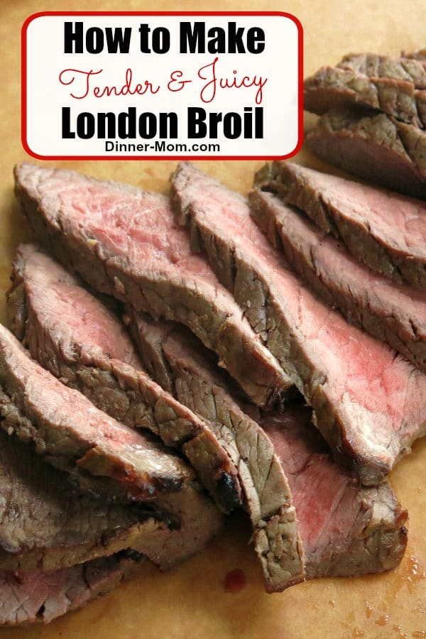 The best London Broil marinade was used in our Make Ahead Meal Kitchen thousands of times!  Follow our tips to perfectly cook it in the oven or on the grill every single time. #londonbroil #marinade