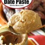 Easy 2 Ingredient Date Paste Pin