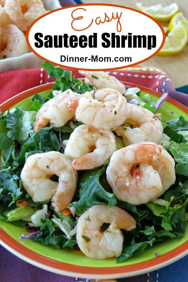 Easy Sauteed Shrimp Pin