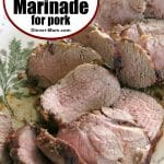 Best Red Wine Marinade Pin