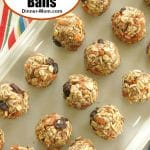 No-Bake Carrot Cake Balls Pin