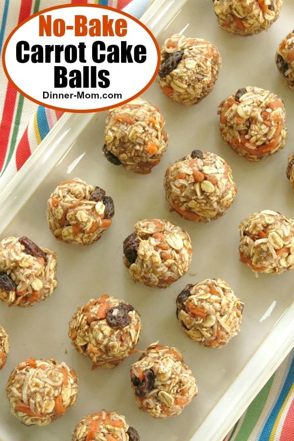 No-Bake Carrot Cake Balls Pin