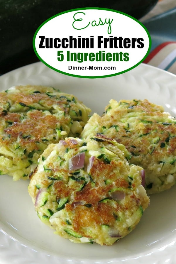 Zucchini Fritters with Feta Cheese Pin