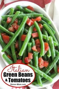 Italian Green Beans and Tomatoes Pin