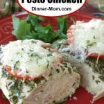 Healthy Pesto Chicken Pin