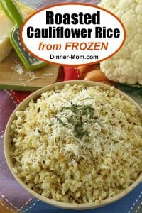 Roasted Cauliflower Rice Pinterest