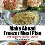 Make Ahead Freezer Meal Plan