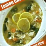 Lemon Chicken Soup Recipe Pin