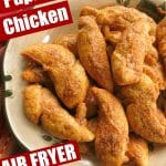 Paprika Parmesan Chicken Air Fyer or Oven Pin