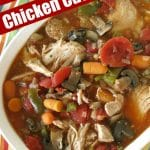 Slow Cooker Chicken Cacciatore Pin