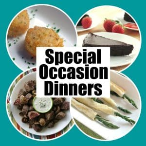 Special Occasion Dinner Recipes