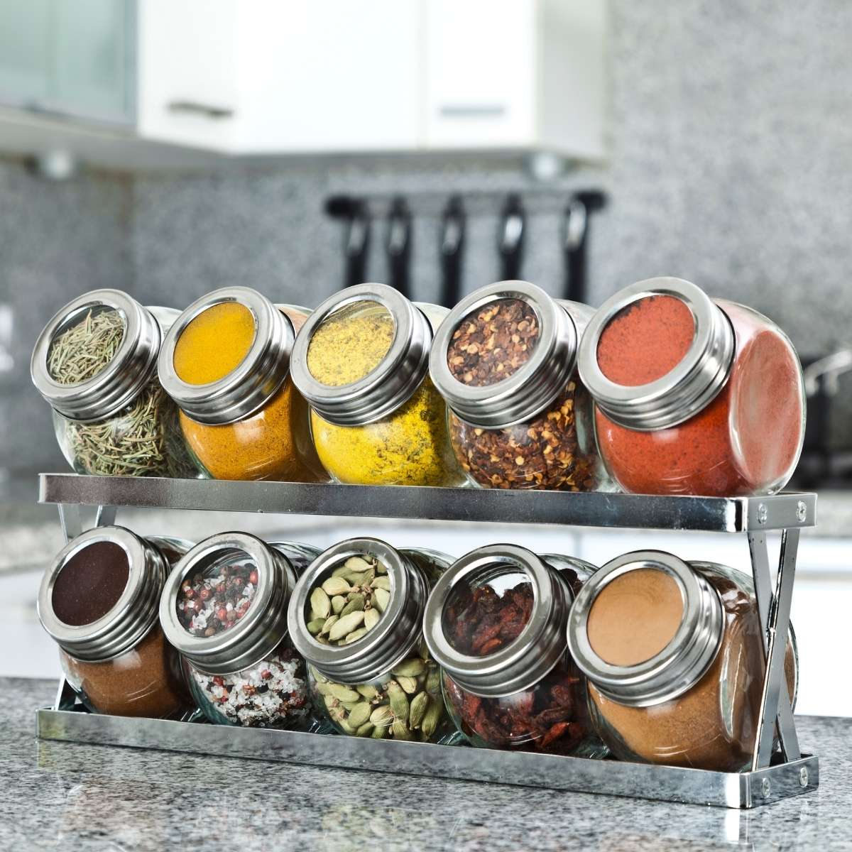 How to Organize a Spice Cabinet