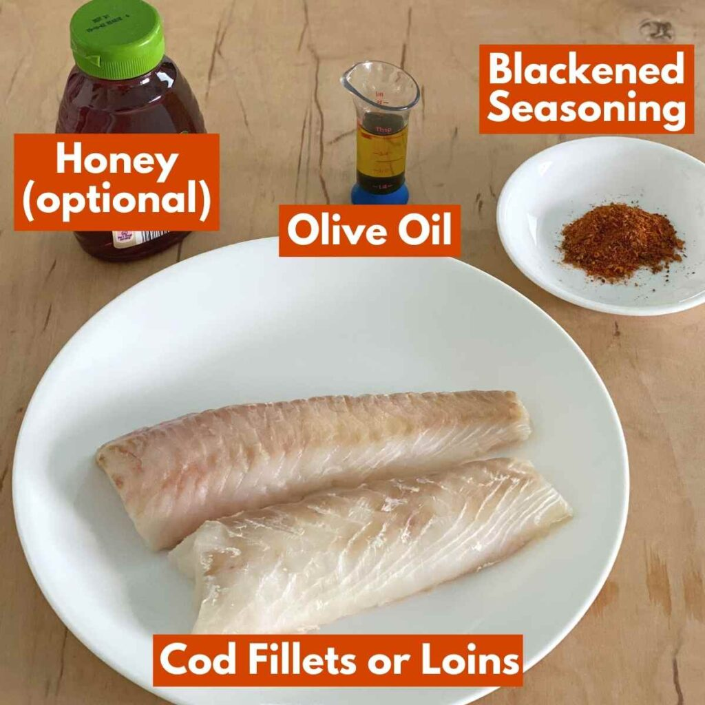 Graphic of ingredients in recipe with labels.