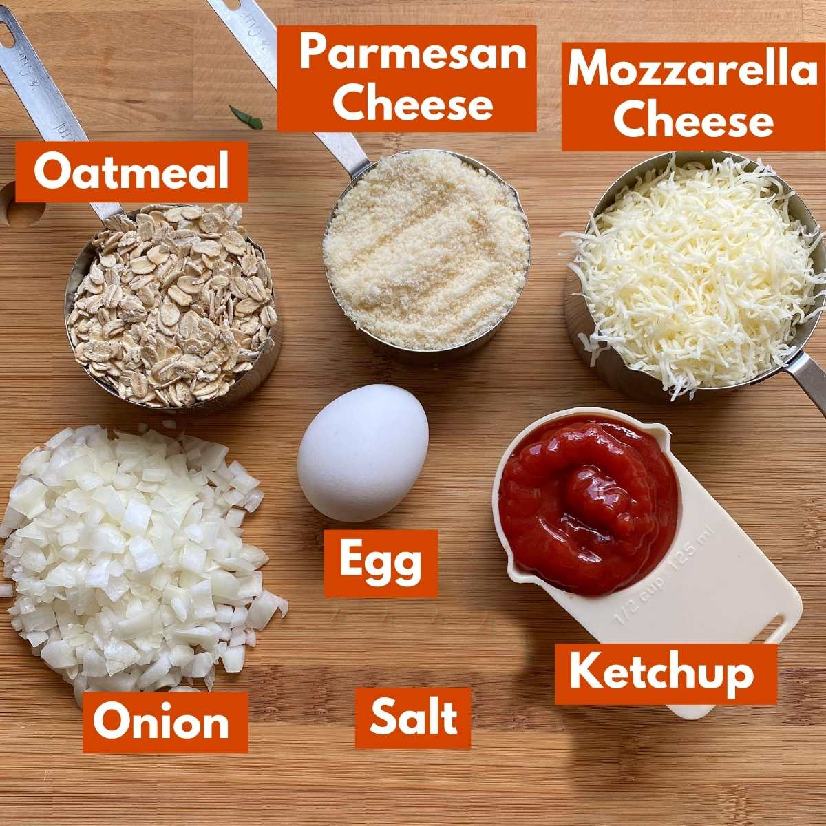 Graphic with ingredients to make the recipe.