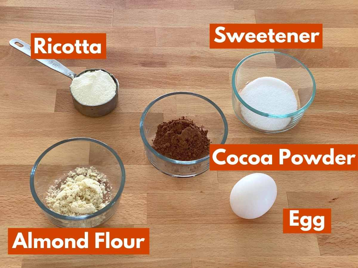Collage of ingredients to make the recipe.